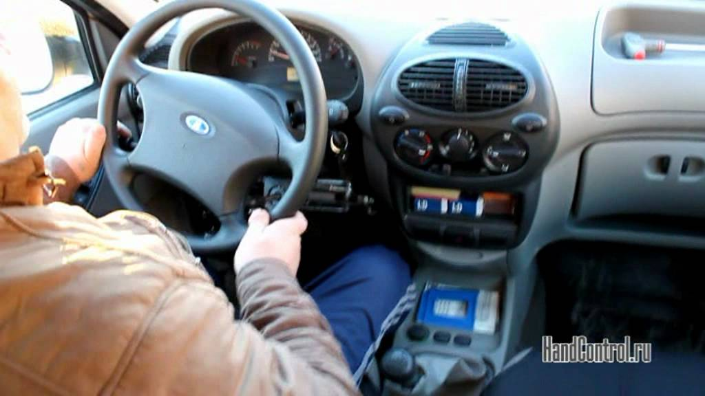 Вождение автомобиля LADA
