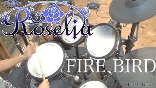 【Roselia】FIRE BIRD ドラム 叩いてみた