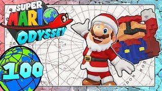 SUPER MARIO ODYSSEY Part 100: Weihnachts-Outfit, 8-Bit-Mütze & neue Social Media Hinweiskunst [ENDE]