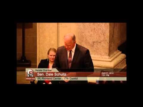 Wisconsin State Senate: Dale Schultz's Farewell Speech