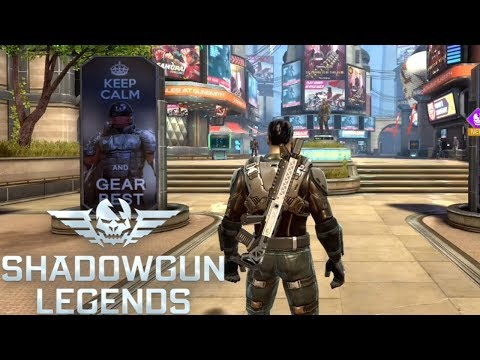 SHADOWGUN LEGENDS GAMEPLAY - FPS RPG (Android / IOS)