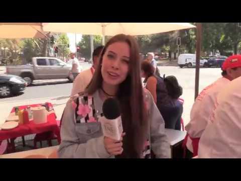 El día del chacarero junto a la miss Chile Anahí Hormazábal
