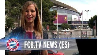 FCB.tv News - El Bayern ya está en Barcelona