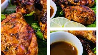 دجاج بصلصة الباربيكيو  في الفرن barbecue sauce