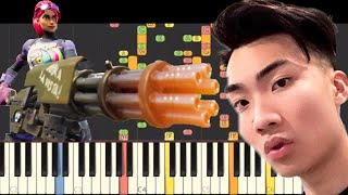 Ricegum - Fortnite N Chill - IMPOSSIBLE REMIX - Piano Cover
