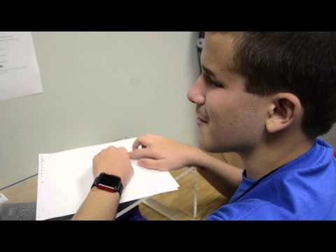 Braden River Middle School student competes in Braille competitions