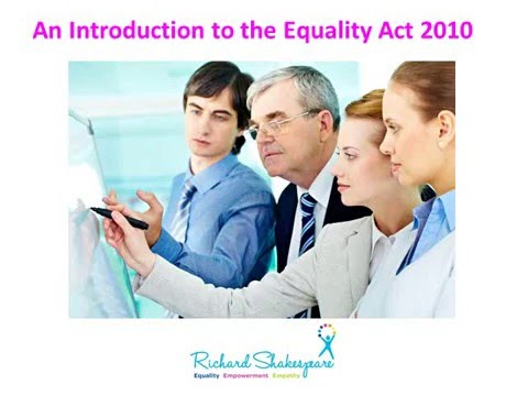 Equality Act Introduction