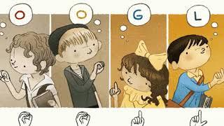 Google shows Doodle for Charles Michèle de l'Epée, Father of the Deaf