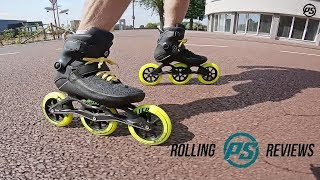 Powerslide Swell Black City 125 fitness skates - Rolling Reviews