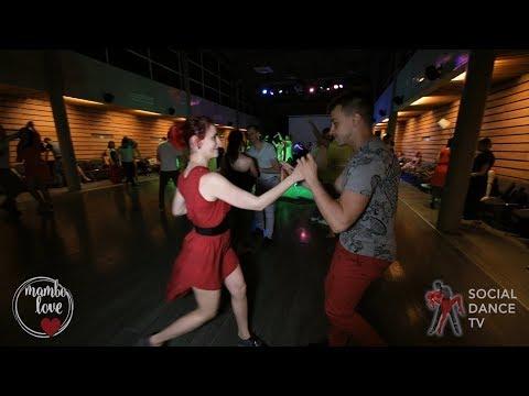 Aleksandr & Diana - Salsa social dancing | Mambo.love 2018