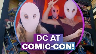 Inside the DC Comic-Con experience
