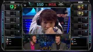 SSO vs MSK | Samsung Galaxy Ozone vs Mineski Worlds 2013 Day 6 Group B | Season 3 S3 D6G5 VOD