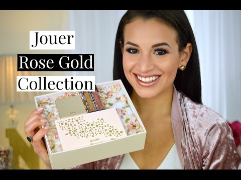 New Jouer Rose Gold Collection | Spring 2017