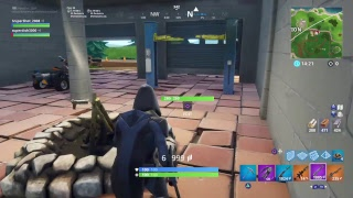Fortnite Roleplay) finding secret dire (ft. Zombie Slasher114