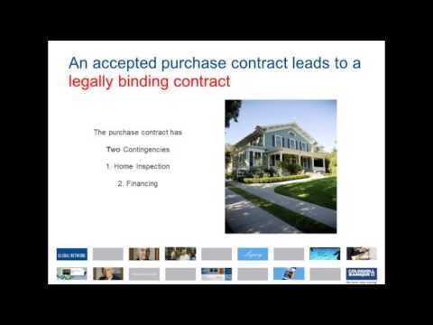 Part 4 - The Home Buying Process - Contract to Closing