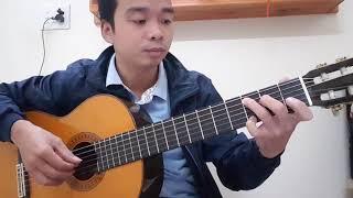Mua thu lá bay - Guitar cover