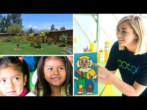 Volunteer in Peru with Kindergarten Children