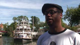 The Princess and the Frog interviews at the Magic Kingdom