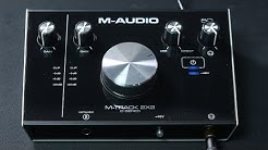M-Audio M-Track 2x2 C-Series Interface Review / Explained