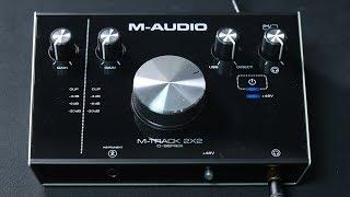 М-м аудіо-трек 2х2 C-серії огляд інтерфейсу / пояснив