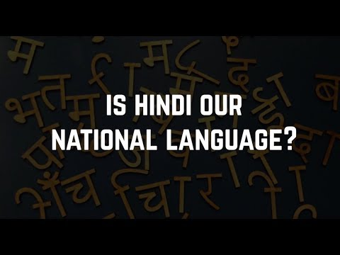 our national language hindi English vs hindi : realistically speaking how important is it to know our national language forget patriotism, other than that, how important is it to know hindii'm from tamil nadu and so far idk hindi and most of the people in my state who are like me have gone to different parts of the country havent found it to be a problem,infact a friend.