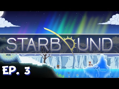 Starbound - Ep. 3 - Clearing the USCM Base! - Multiplayer - Winter Update - Stable