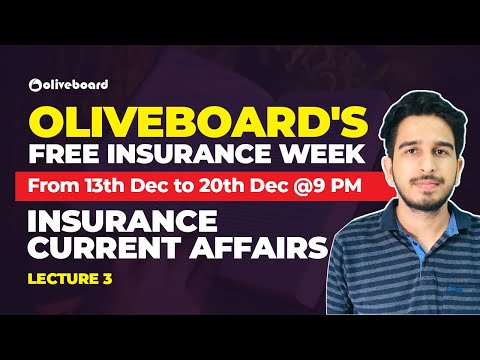 Latest Insurance News | LIC Assistant Mains 2019 | Part 3