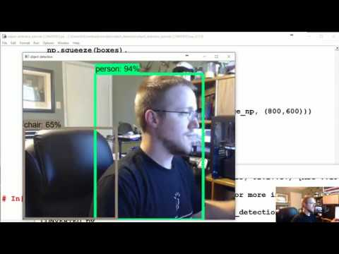 Adapting to video feed - TensorFlow Object Detection API Tutorial p 2