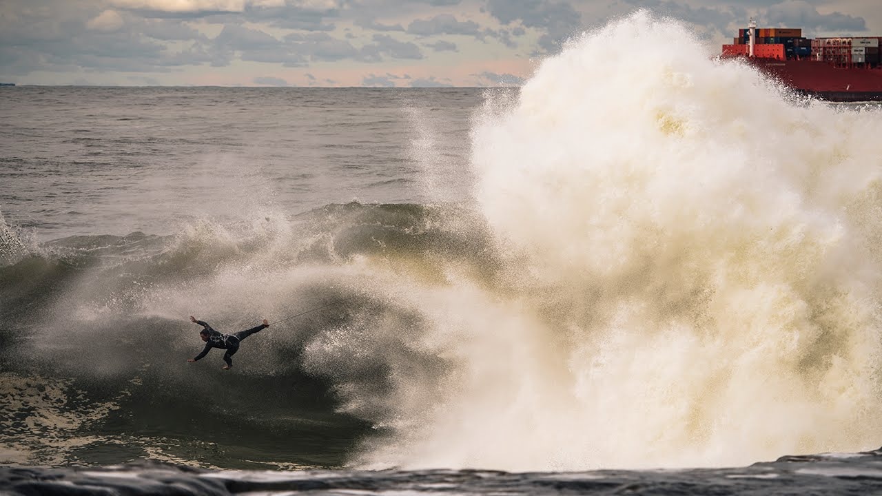 Big Wave Carnage at Red Bull Cape Fear 2016 - Action Highlights
