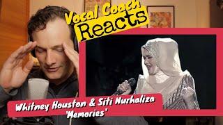 Download lagu Vocal Coach REACTS - Whitney Houston & Dato' Siti Nurhaliza 'Memories'
