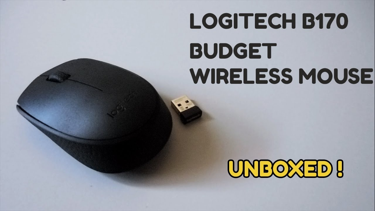 8ad74bbe54b Logitech B170 Budget Wireless Mouse Unboxing & Hands On !! - YouTube