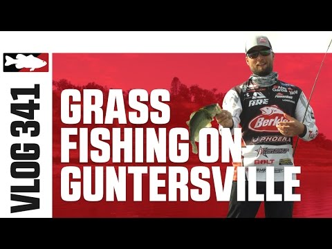 Fishing the Berkley Havoc Ike's Devil Spear on Guntersville with Justin Lucas - VLOG #341