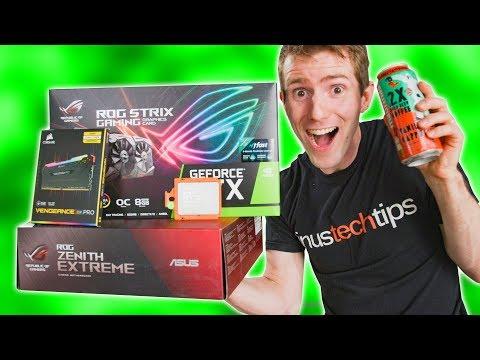 Caffeine-Fueled Midnight PC Building Stream 🔥🔥🔥