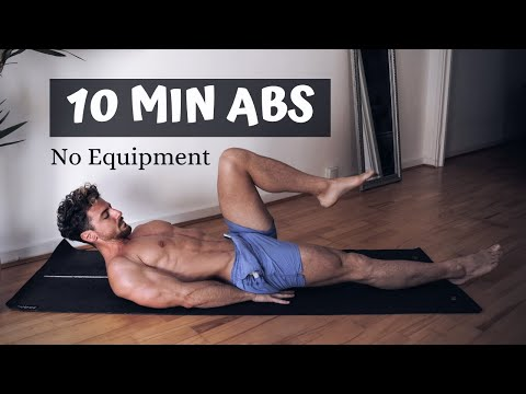 30 min Full Body Fat Burn HIIT (NO JUMPING) - Ab, Core, Arm, Back, Leg, Thigh & Cardio ~ Emi