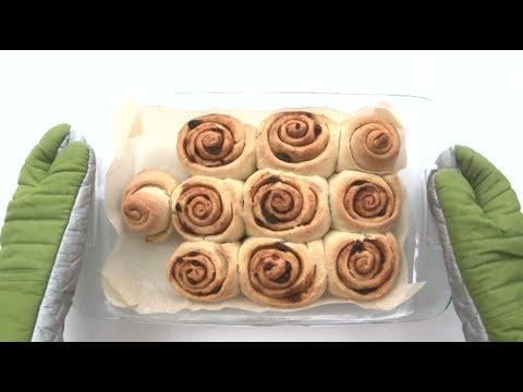 Low Sugar Vegan Cinnamon Buns 低糖純素肉桂捲 │Jen Chen Vegan Recipe
