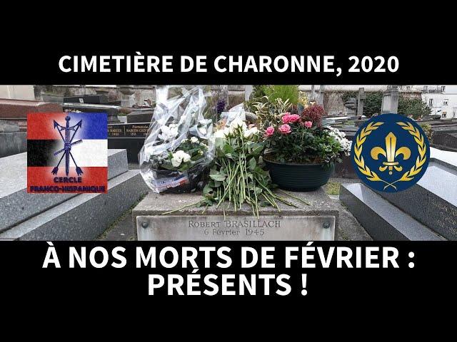 Hommage aux morts du Six-Février