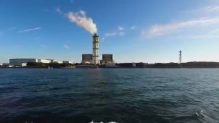 横浜から川崎まで京浜運河往復