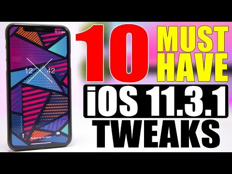 10 MUST Have iOS 11.3.1 Jailbreak Tweaks