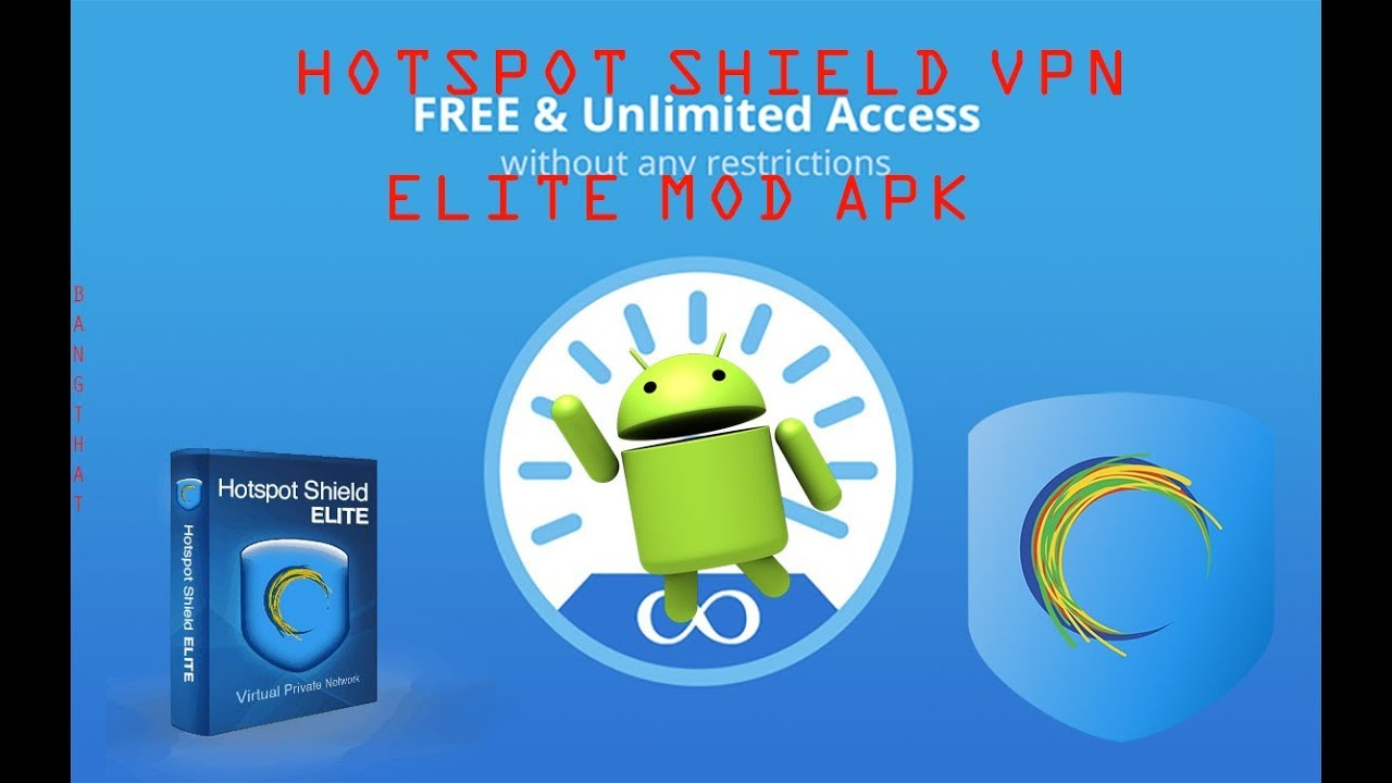 DOWNLOAD HOTSPOT SHIELD VPN ELITE MOD APK LIGHT/DARK VERSION!!