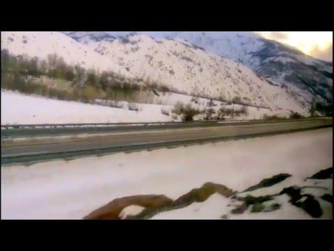 Doğu Ekspresi Erzurum - Erzincan, train trip eastern express