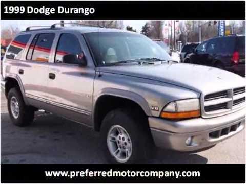 1999 dodge durango used cars springfield mo youtube for Durango motor company used cars