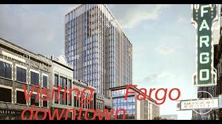 Visit Fargo Downtown USA America North Dakota