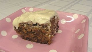 Carrot Cake With Cream Cheese Frosting -- Lynn's Recipes