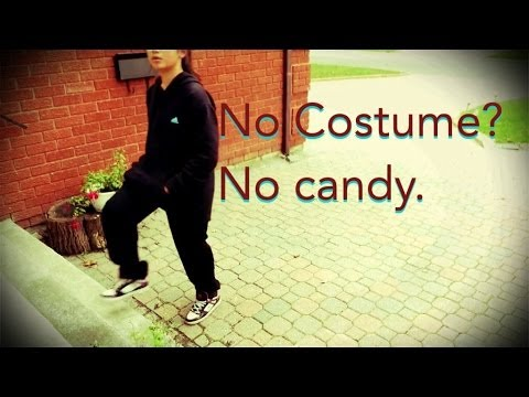 No Costume? No Candy.