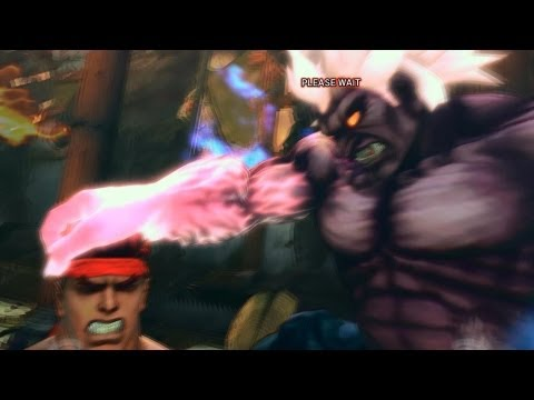 Super Street Fighter 4 IV AE PC Oni Playthrough + Secret Evil Ryu Boss fight 2/2