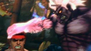 Super Street Fighter 4 IV AE PC Oni Playthrough + Secret Evil Ryu Boss fight 2/2