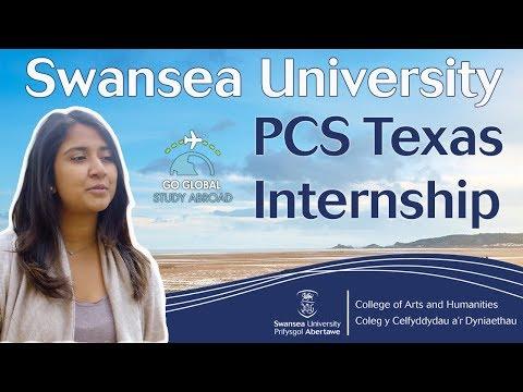 PCS Texas Internship Programme at Swansea University