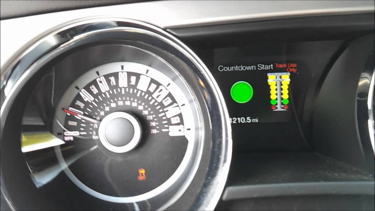 2013 Ford Mustang GT 5 0 Track Apps 0 60 mph Test Drag