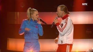 STJERNEKAMP 2018 – DUETT: Ole Børud og Lisa Børud – Walk the Dinosaur – Was Not Was