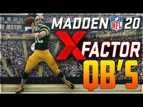 In The Zone - UPDATE: QB Madden 20 Ratings Have Been Released